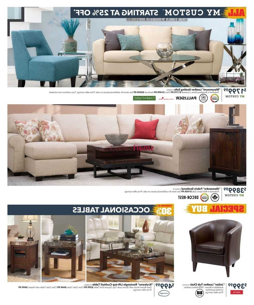 Current Dufresne Flyer November 3 To 16 Within Dufresne Sectional Sofas (View 4 of 20)