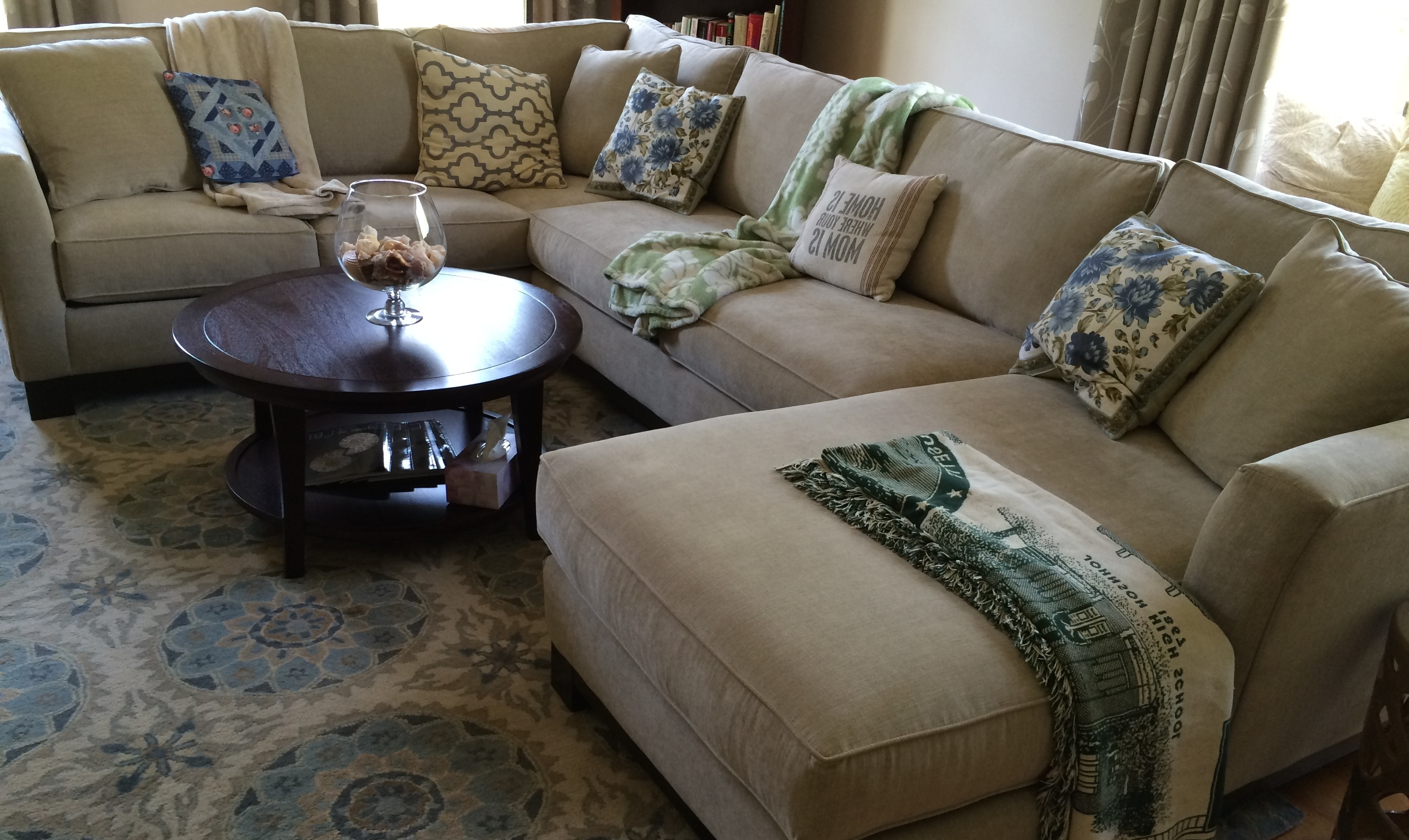 Current Extra Deep Seat Sofa Cushion Sectional Centerfieldbar Regarding Pertaining To Deep Cushion Sofas (View 2 of 20)