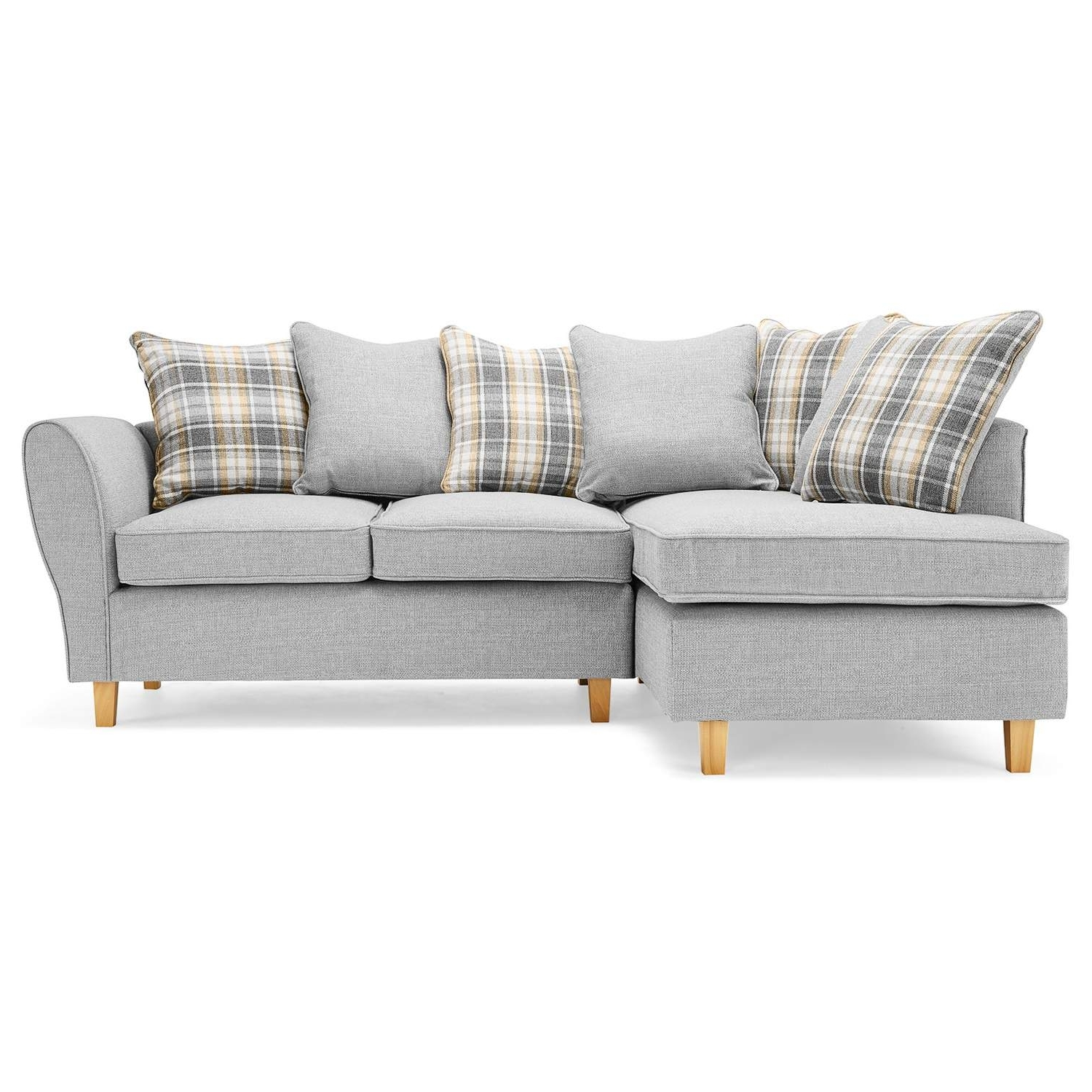Current Fabric Corner Sofas For Ashbourne Fabric Corner Sofa – Next Day Delivery Ashbourne Fabric (View 5 of 20)