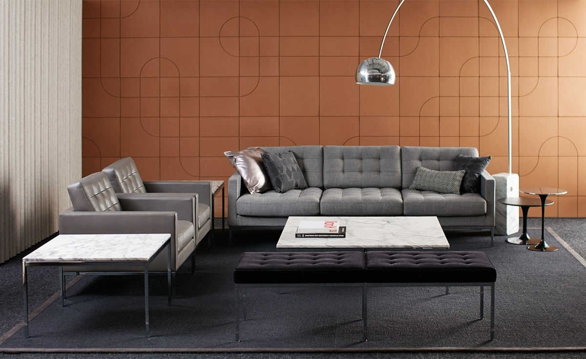 Current Florence Sofas With Florence Knoll Relaxed Sofa – Hivemodern (View 19 of 20)