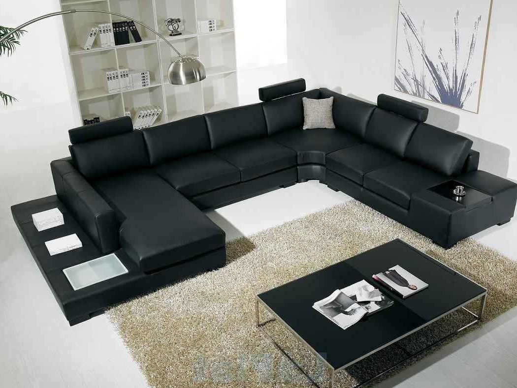 Current Huge Sofas Throughout Cheap Sectional Sofas With Huge Sectional Sofa With Leather (View 16 of 20)