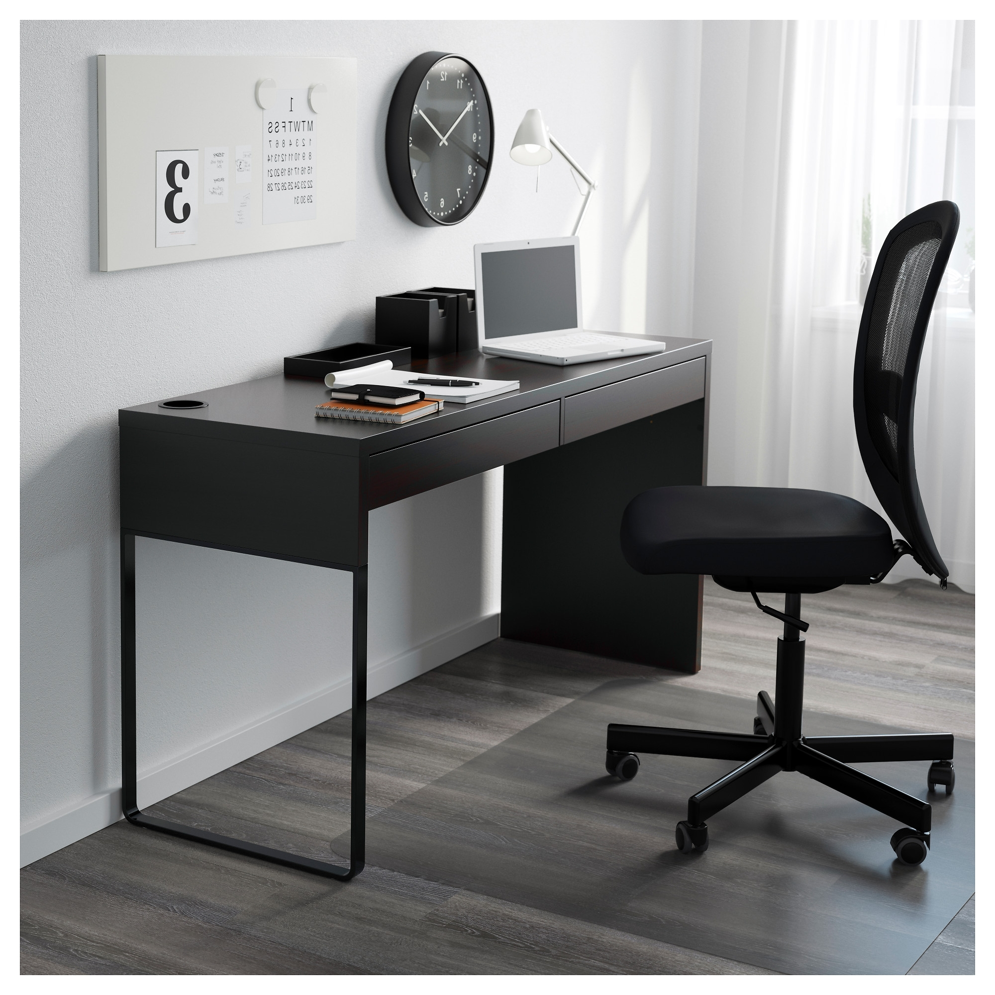 Current Ikea Mn Computer Desks For Micke Desk – Black Brown – Ikea (View 5 of 20)