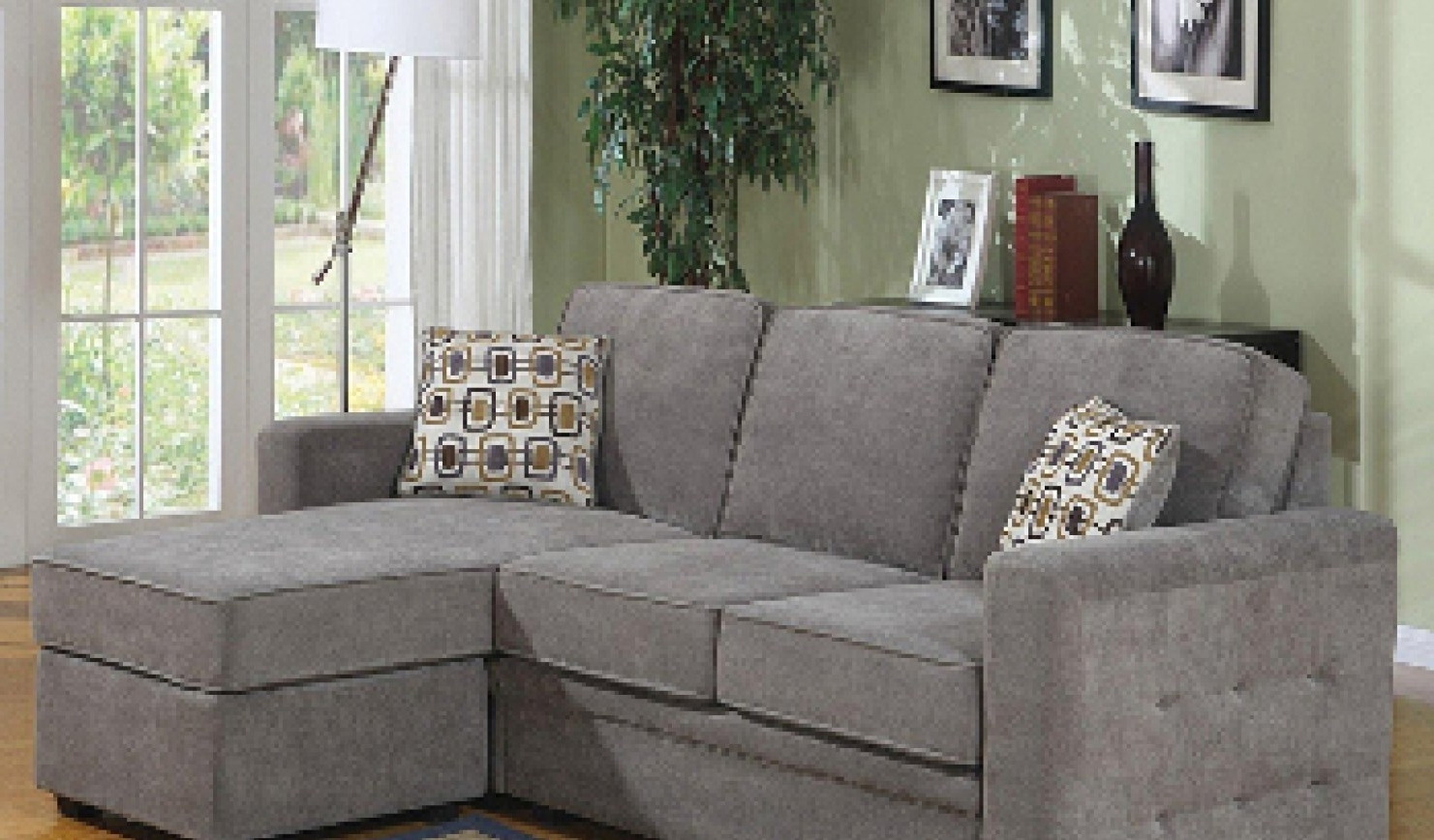 Current Inexpensive Sectional Sofas For Small Spaces For Stylish Inexpensive Sectional Sofas For Small Spaces (View 2 of 20)