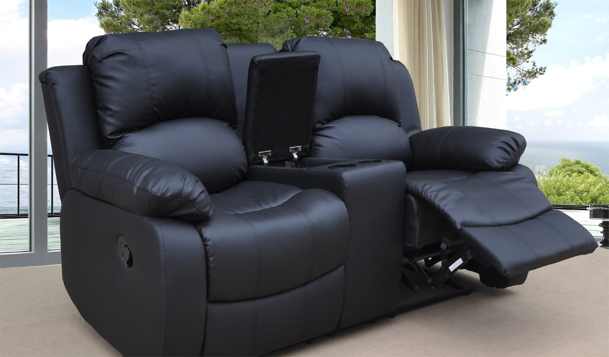 Current Inspirational 2 Seater Electric Recliner Leather Sofa 42 Modern Intended For 2 Seater Recliner Leather Sofas (View 8 of 20)