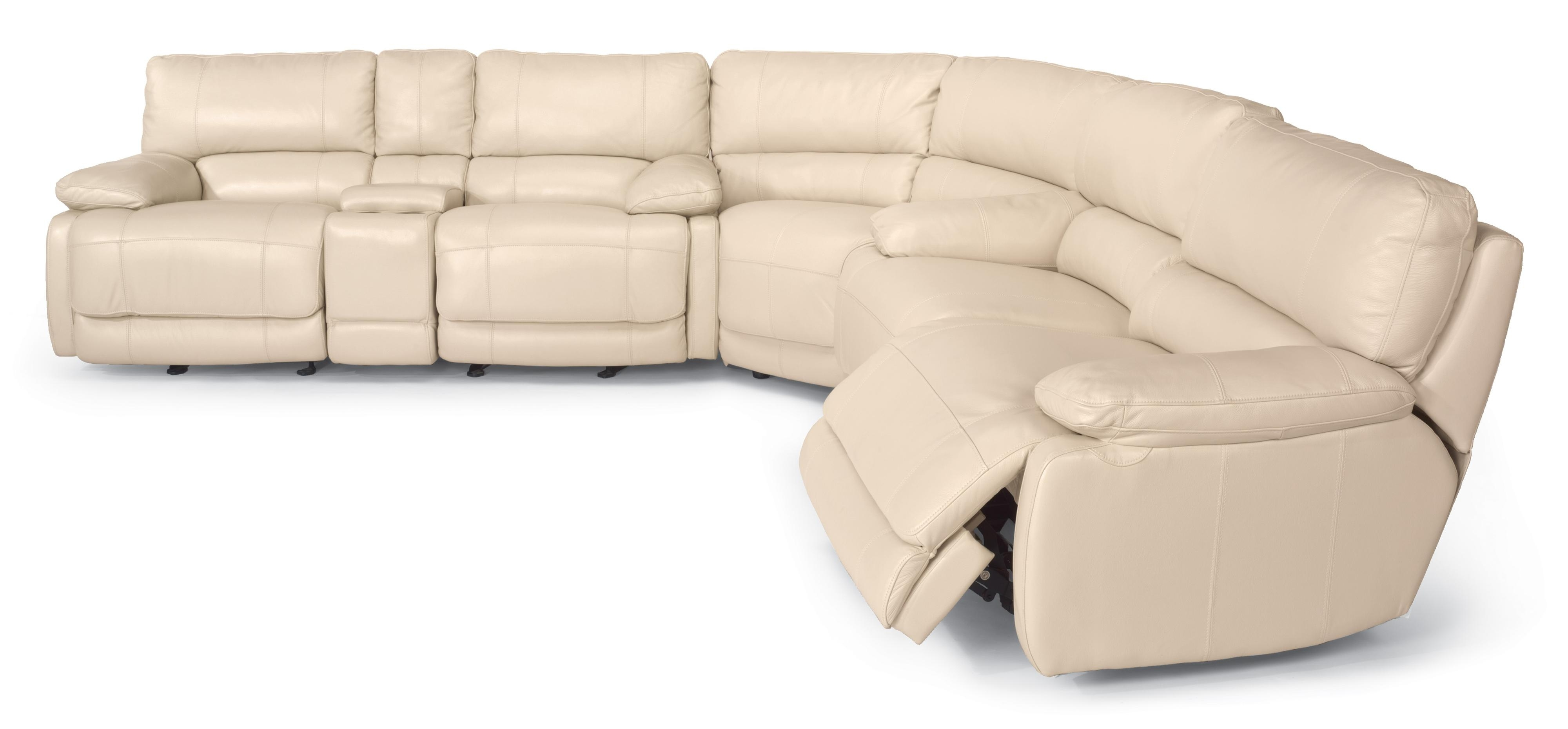 Current Kansas City Sectional Sofas With Flexsteel Latitudes – Hermosa Reclining Sectional Sofa – Ahfa (View 3 of 20)