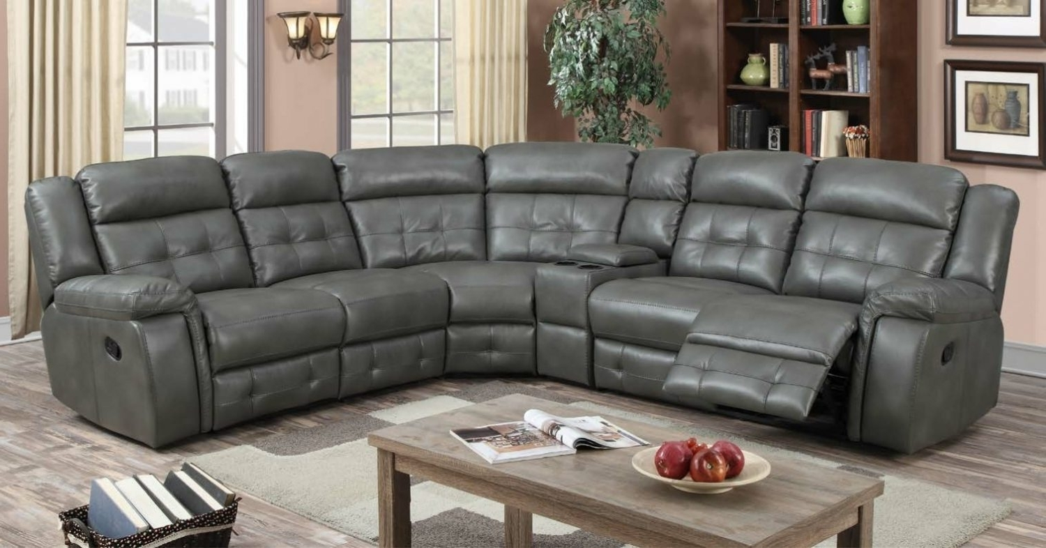 Current Kingston Sectional Sofas Throughout The Kingston Reclining Corner Group – L'amore Furnishings (View 1 of 20)