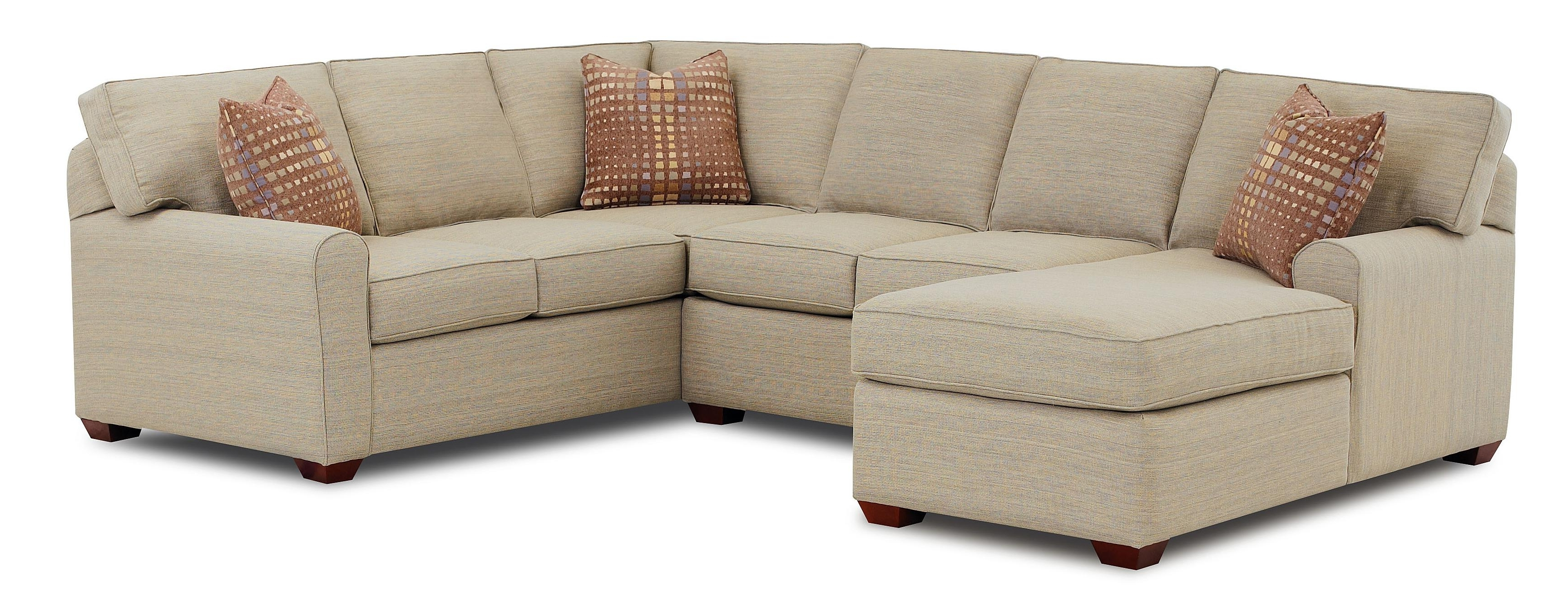 Current Klaussner Hybrid Sectional Sofa With Left Facing Chaise Lounge With Regard To Killeen Tx Sectional Sofas (View 15 of 20)