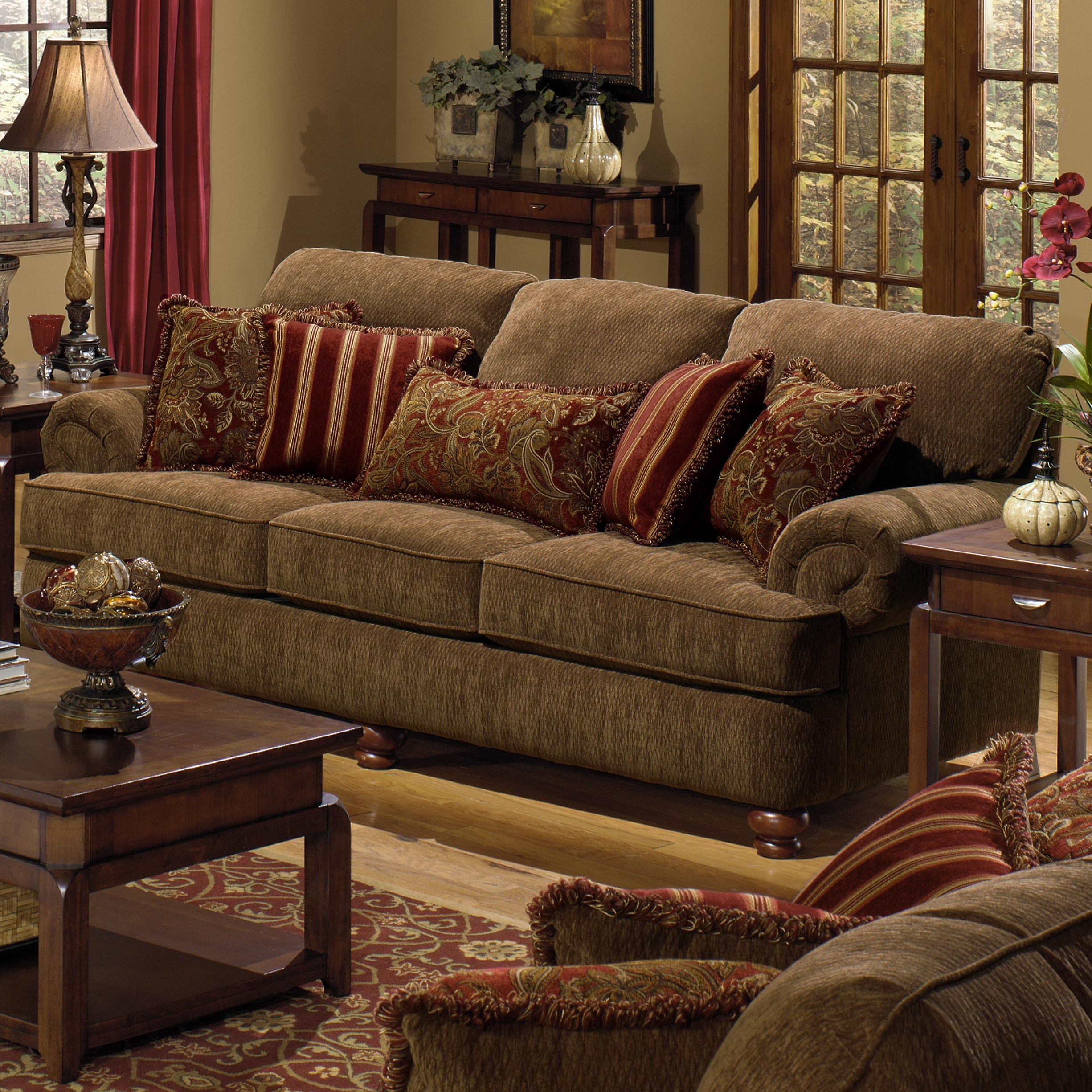 Current Living Room : Decorative Pillows For Sofa Cheap Decorative With Sofas With Oversized Pillows (View 4 of 20)