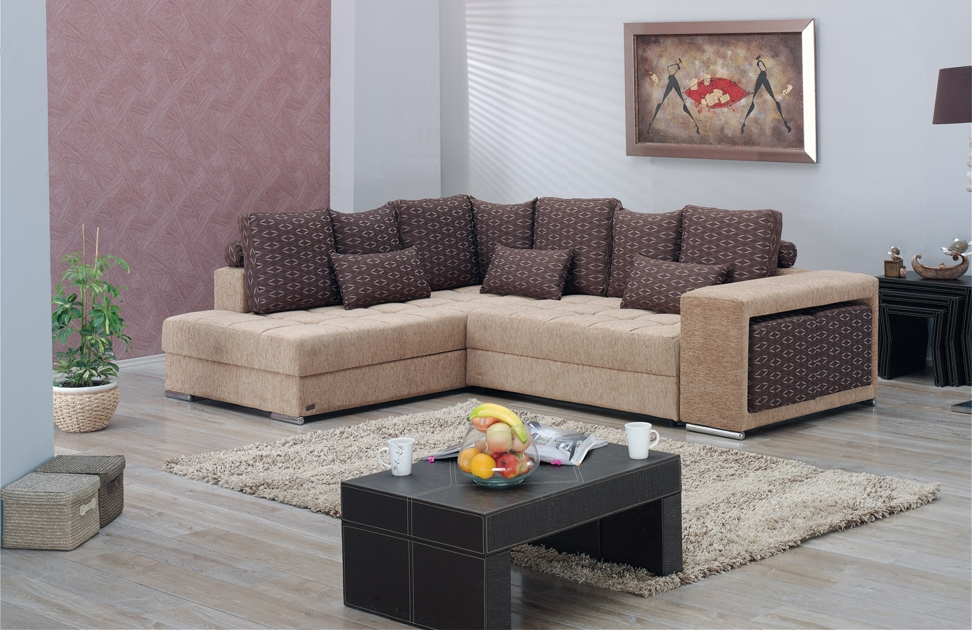 Current Los Angeles Sectional Sofa Setempire Furniture Usa In Los Angeles Sectional Sofas (View 6 of 20)