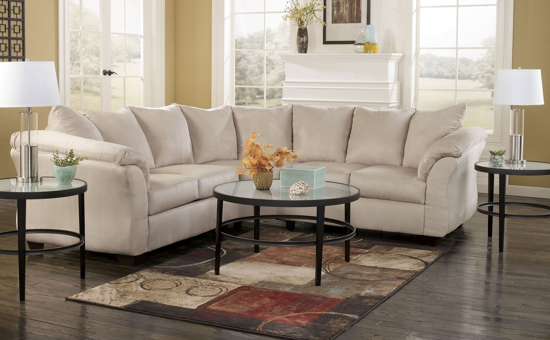 Current Mathis Brothers Sectional Sofas In Furniture: Inspiring Living Room Decor With Cheap Sectional Sofas (View 6 of 20)