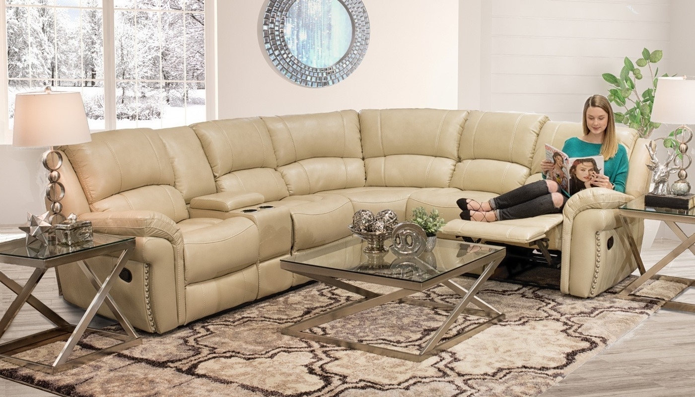 Current Milton Ivory Sectional – Home Zone Furniture (View 3 of 20)