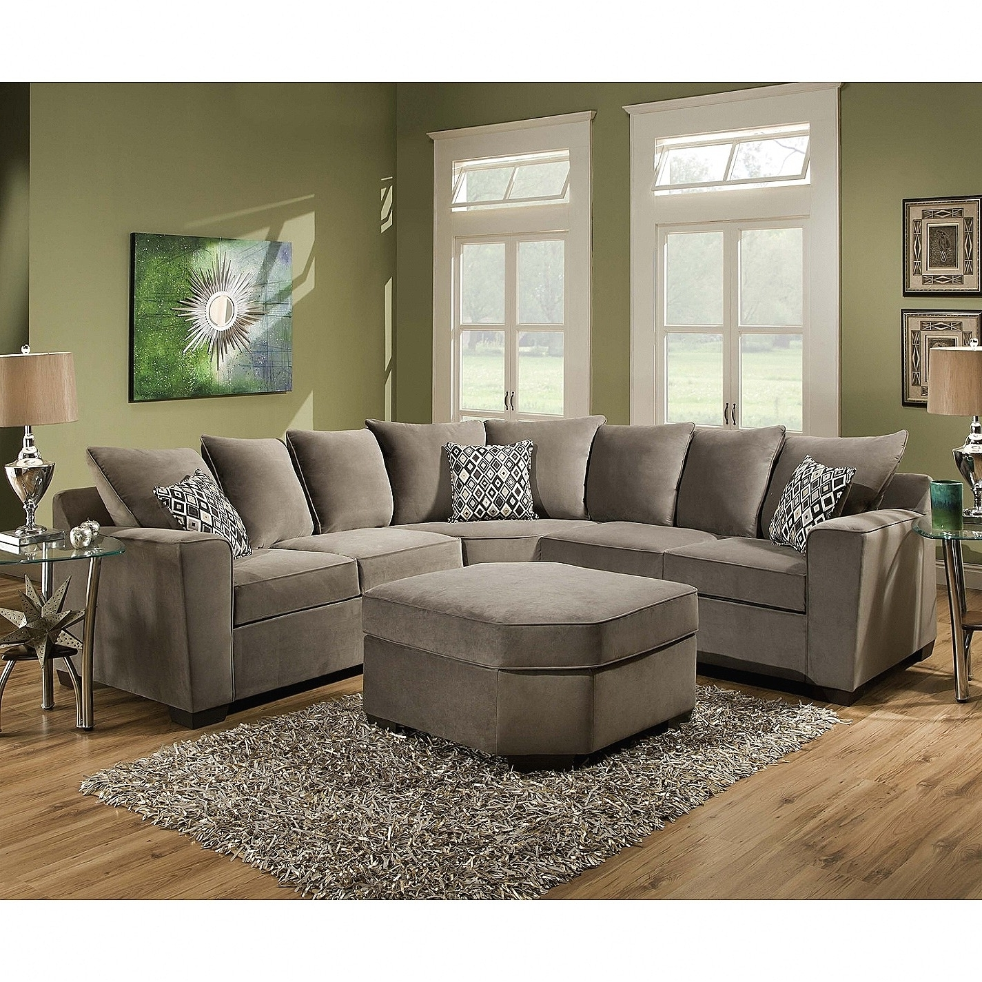 Current Plush Sectional Sofas Within Best Of Plush Sectional Sofas (34 Photos) (View 1 of 20)