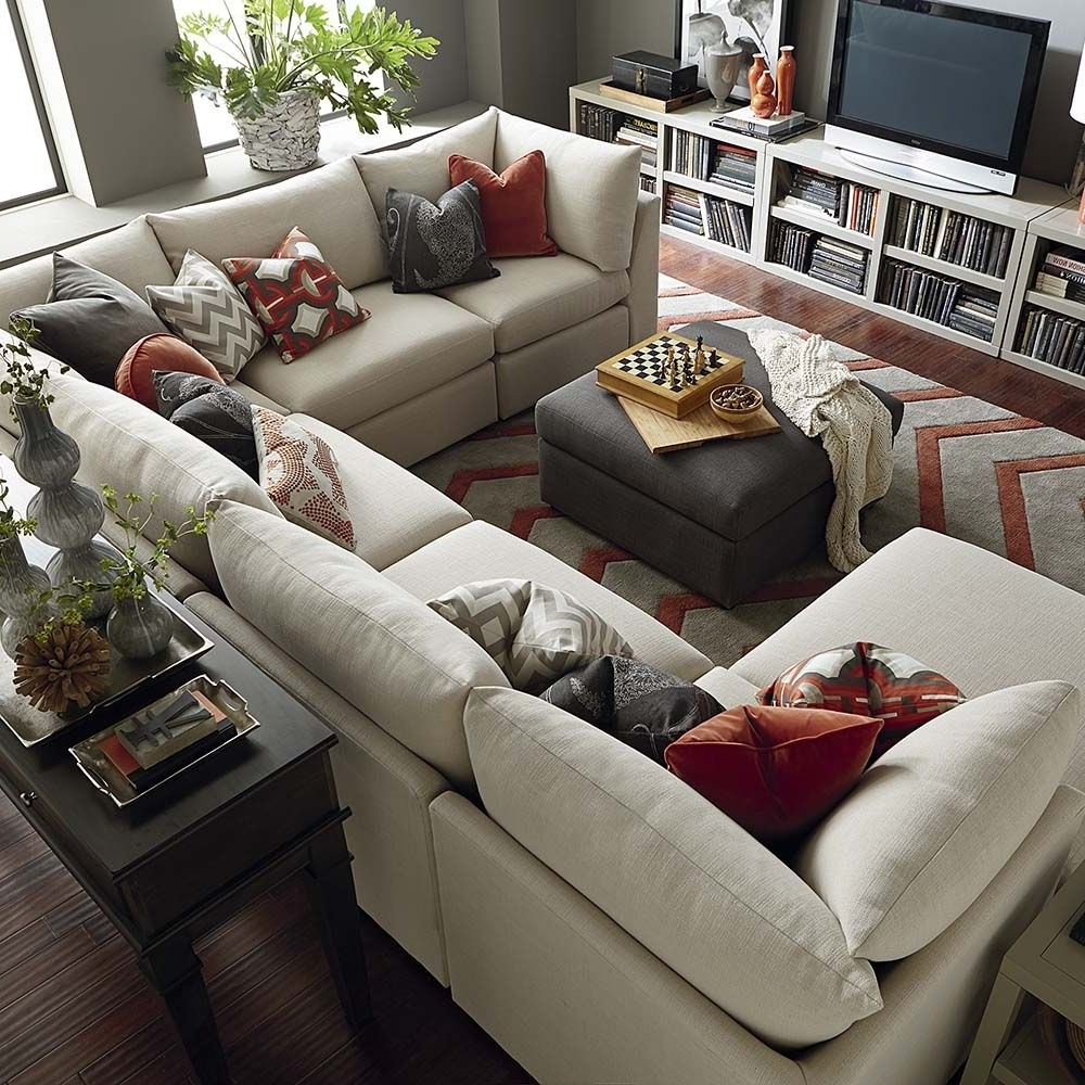 Current Reclining U Shaped Sectionals With Beckham U Shaped Sectional (View 6 of 20)