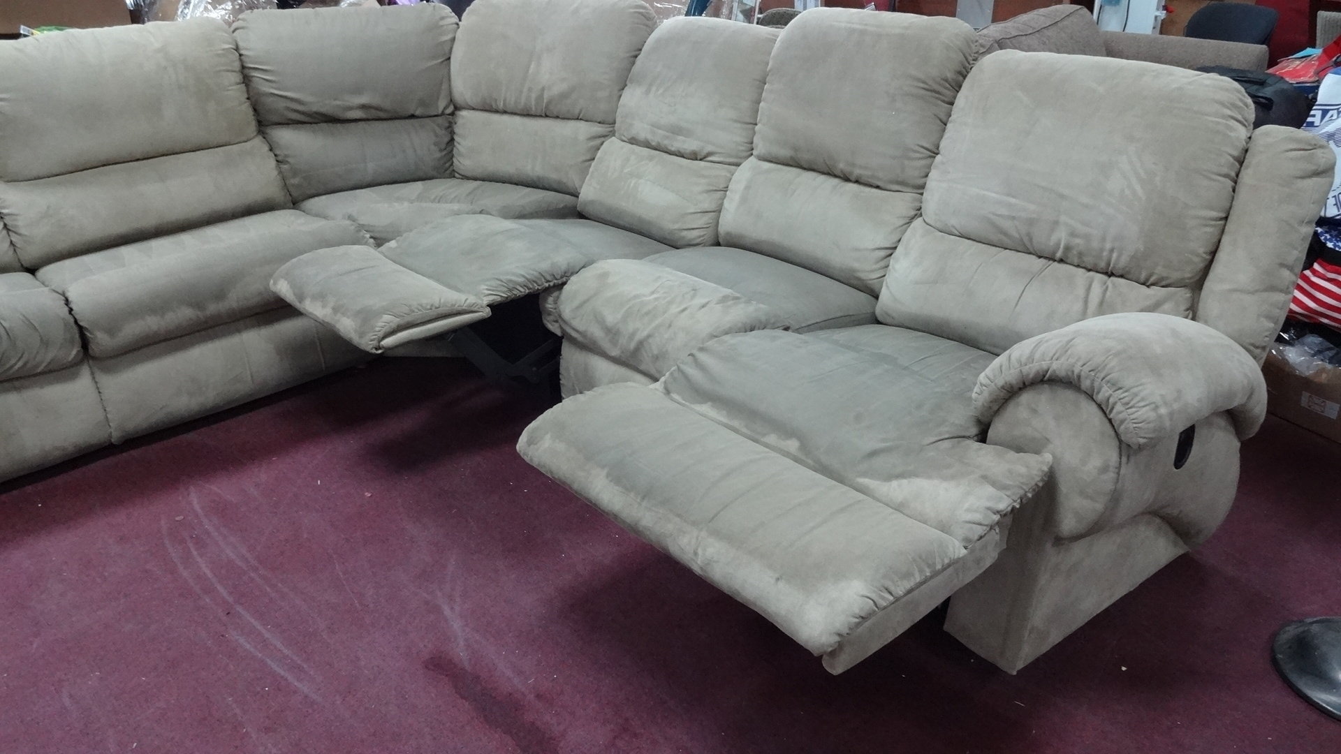 Current Sectional Sofas At Brick In La Z Boy Sectional Sofa Bed • Sofa Bed (View 10 of 20)