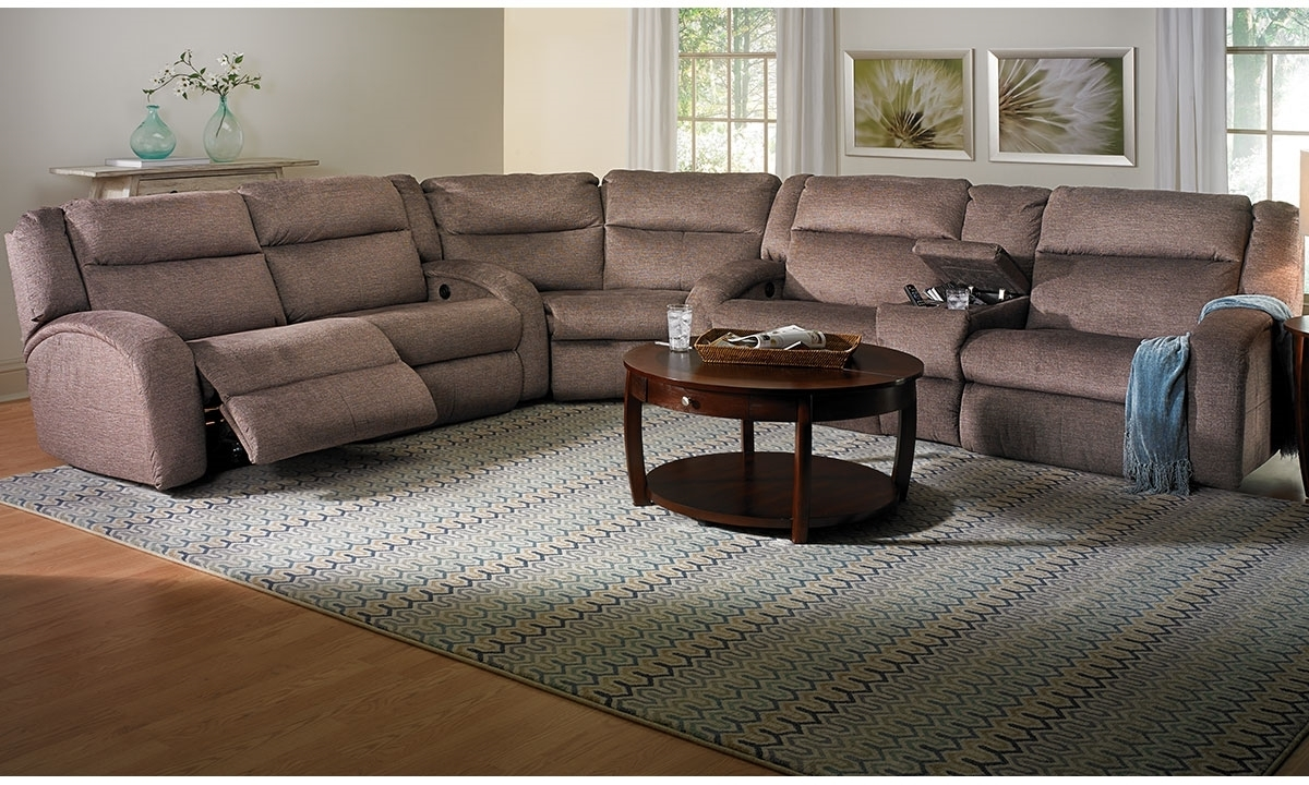 Current Sectional Sofas With Power Recliners Intended For Reclining Sectional Sofas (View 9 of 20)