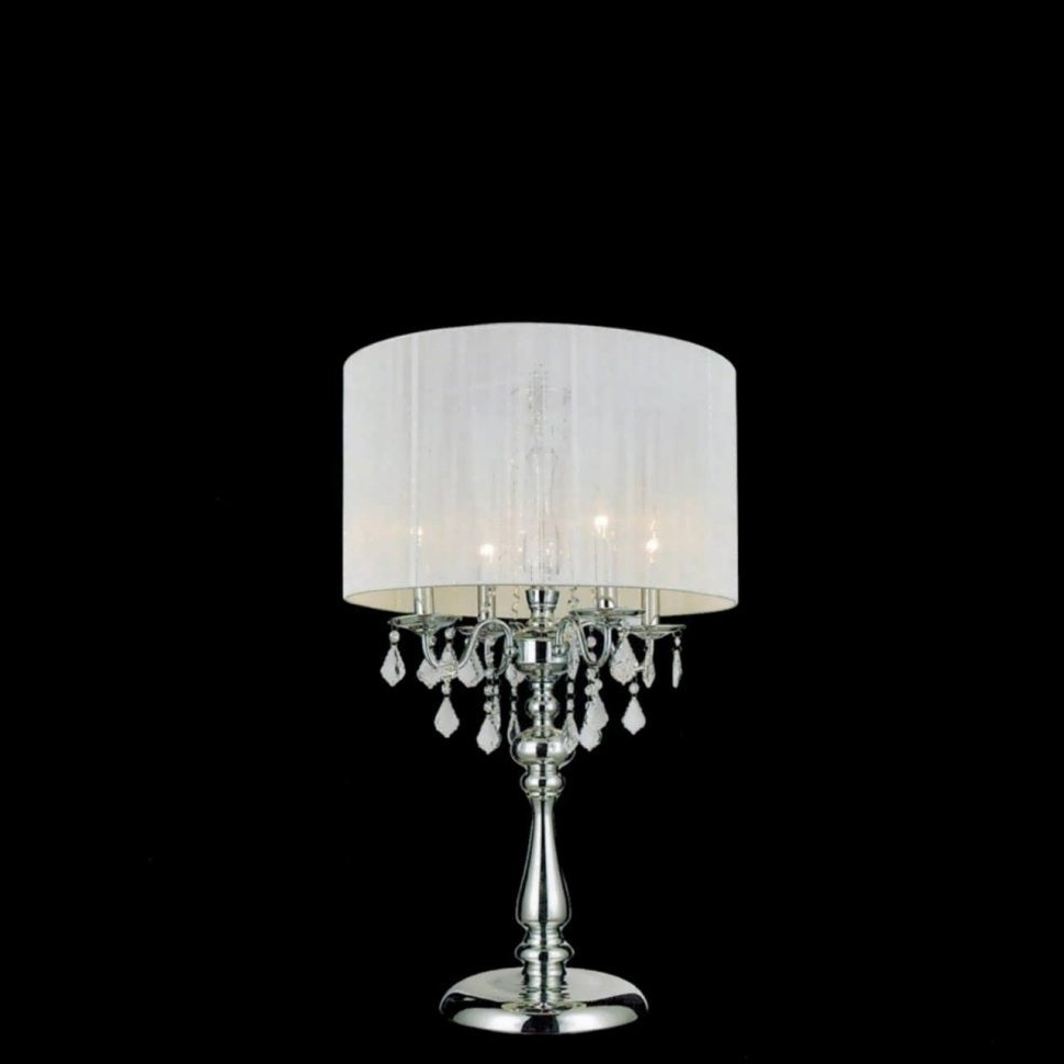 Current Small Crystal Chandelier Table Lamps Pertaining To Lighting : Chandelier Table Lamp Home Lighting Lamps Australia (View 3 of 20)