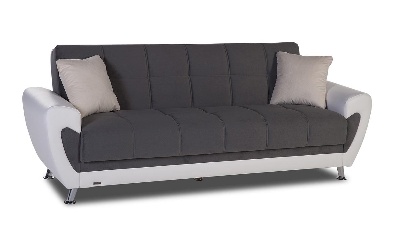 Current Storage Sofas Pertaining To Convertible Sofas :: Duru Convertible Sofa With Storage (View 16 of 20)