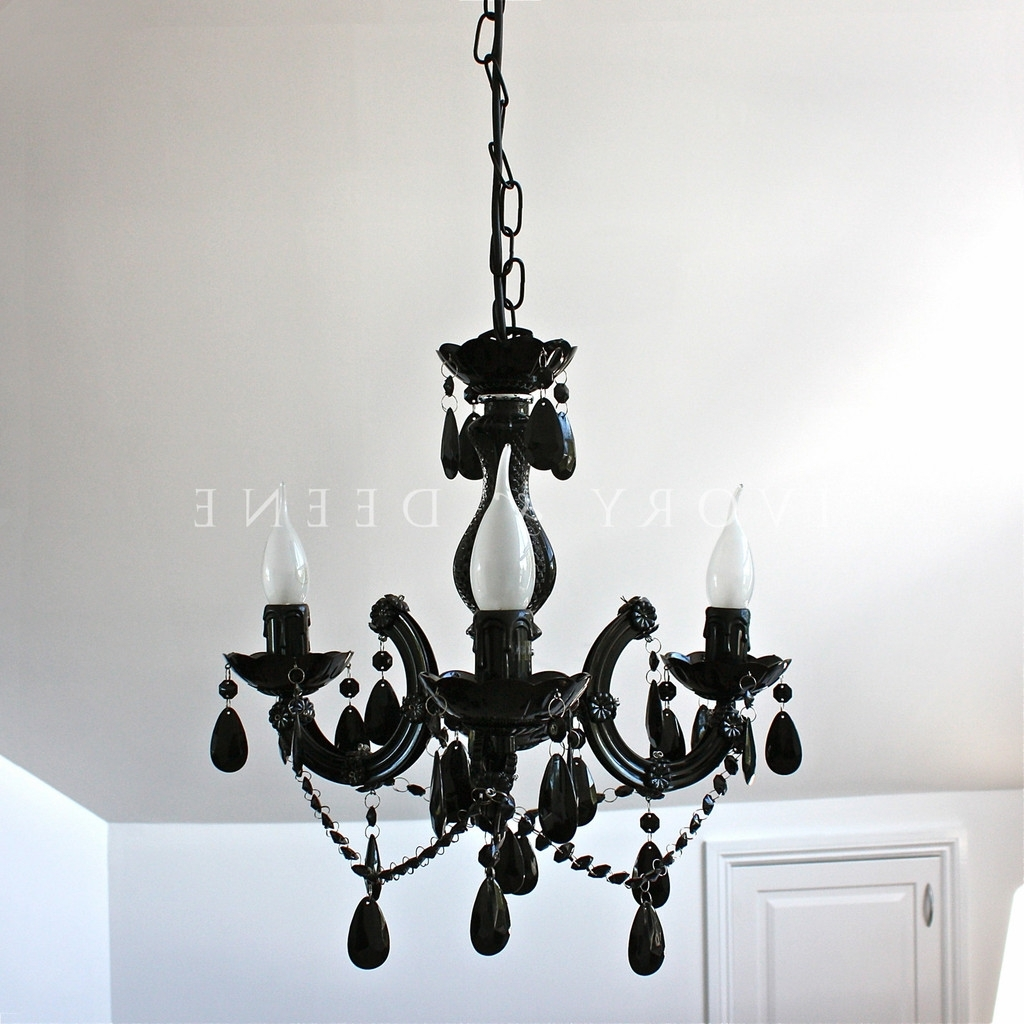 Current Vintage Black Chandelier Pertaining To Vintage Black Chandelier (View 2 of 20)