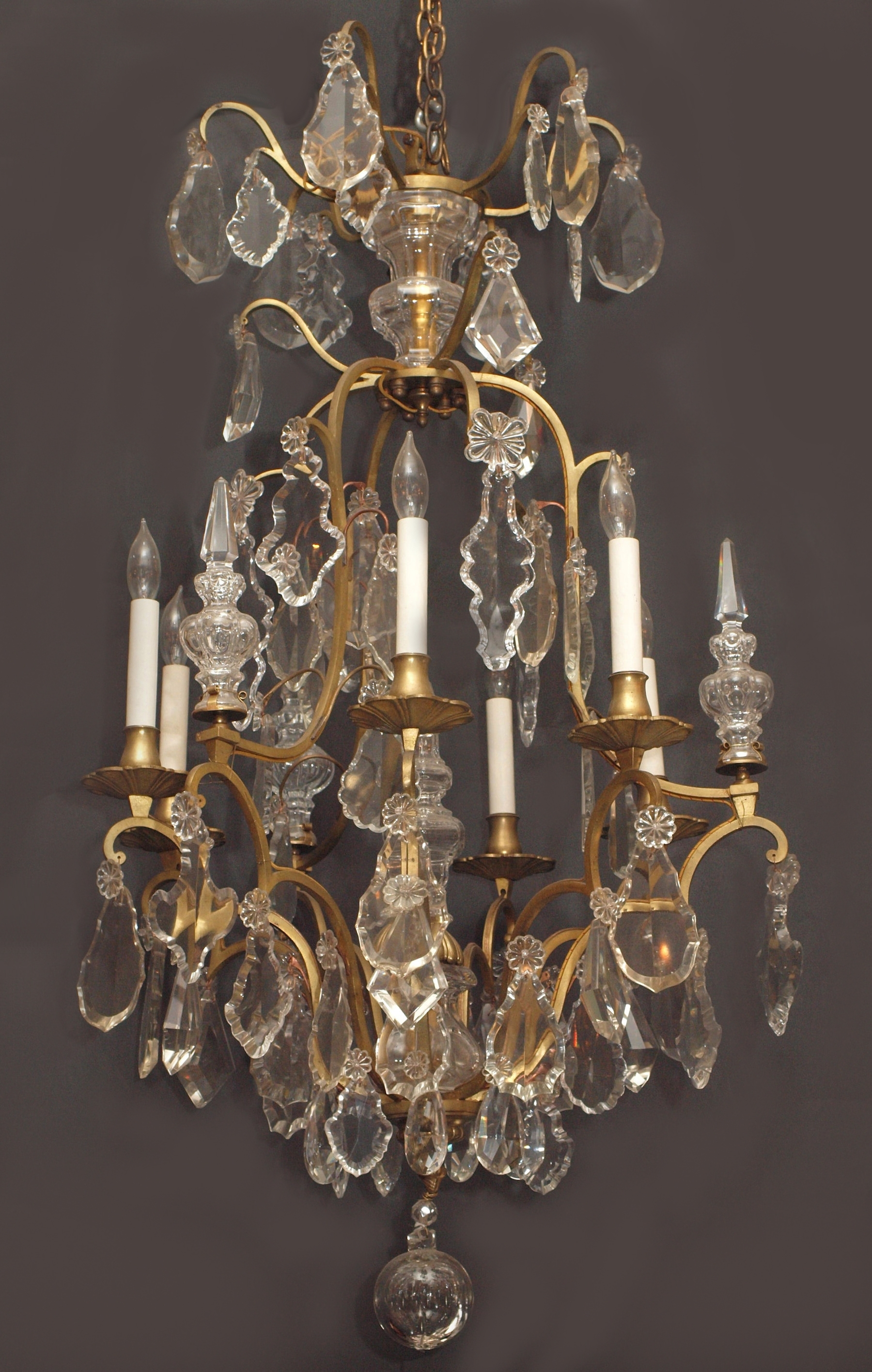Current Vintage French Chandeliers Regarding Vintage French Chandelier – Chandelier Designs (View 5 of 20)