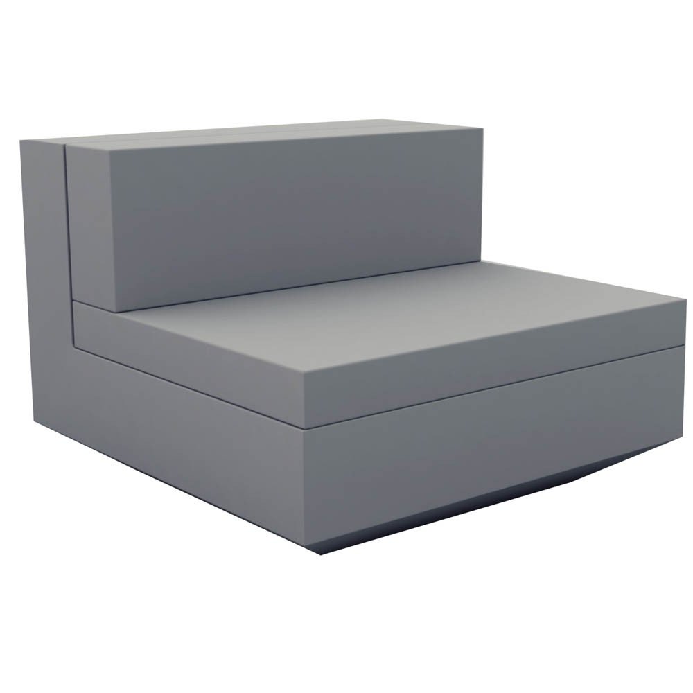 Current Vondom Vela Sectional Sofa – Armless (View 14 of 20)