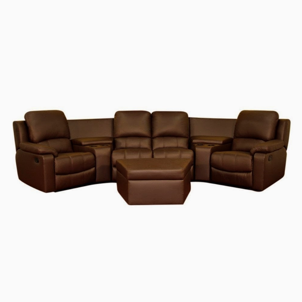 Curved Recliner Sofas Intended For 2019 Cheap Reclining Loveseat Sale : Curved Leather Reclining Sofa And (View 11 of 20)