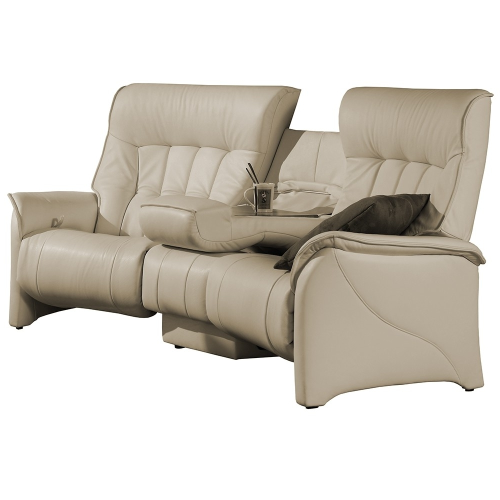 Curved Recliner Sofas With Well Liked Himolla Cumuly Rhine Curved 3 Seater Sofa – Leather Ranges (View 8 of 20)