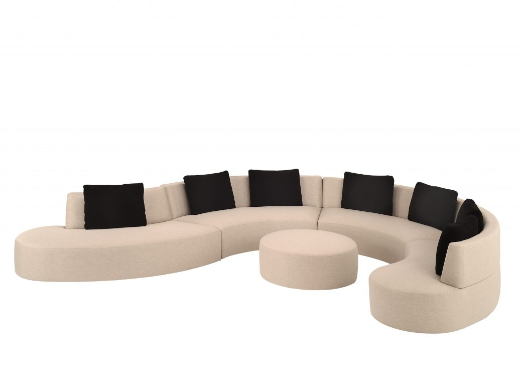 Curved Sectional Sofas With Recliner Throughout Recent Sofa Curved Sectional With Recliner Modern Leather Whiteas For (View 16 of 20)