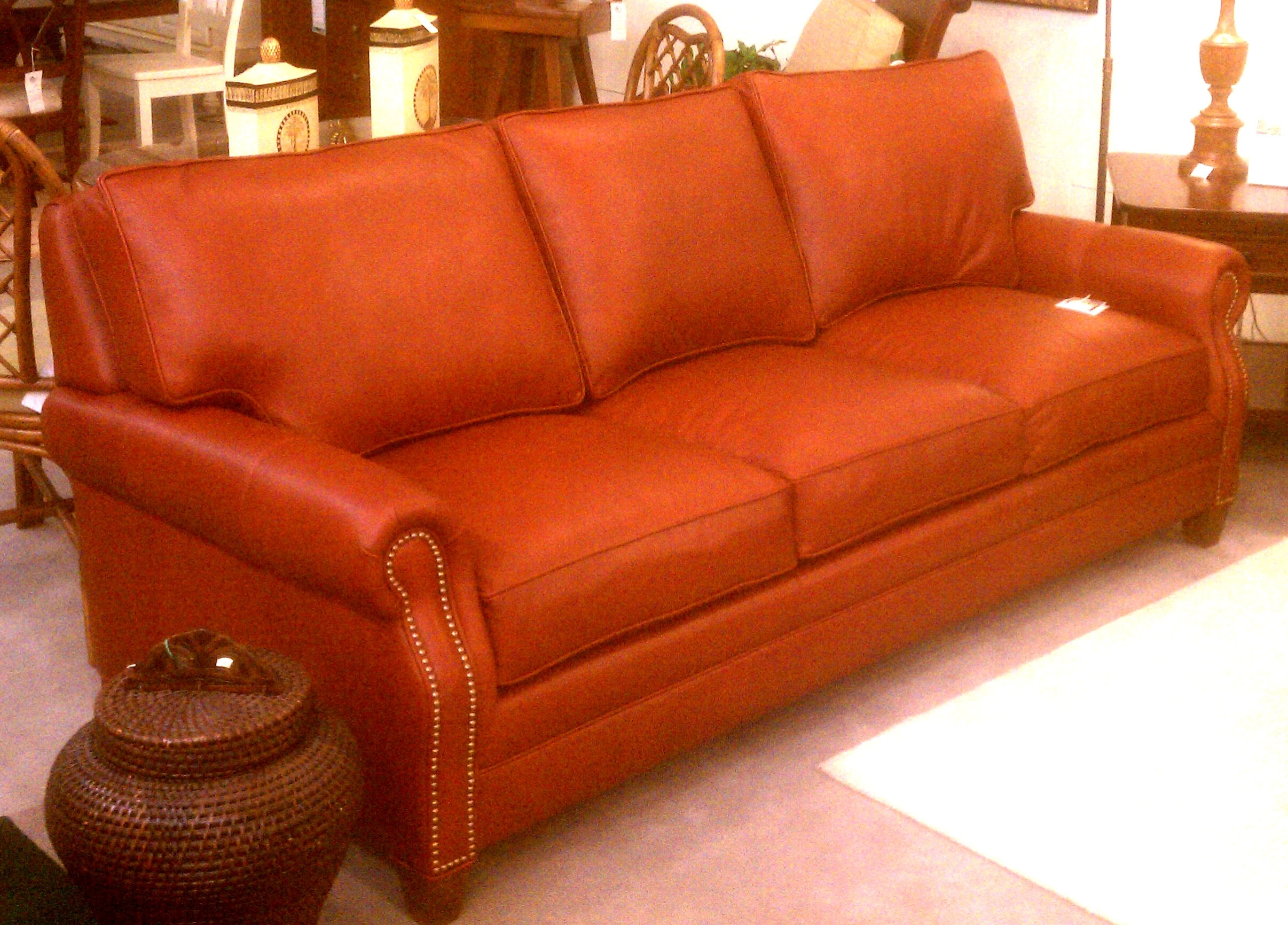 Custom Leather Sofa Dallas Vancouver Furniture Canada Singapore Tx Throughout Most Recent Made In North Carolina Sectional Sofas (View 4 of 20)