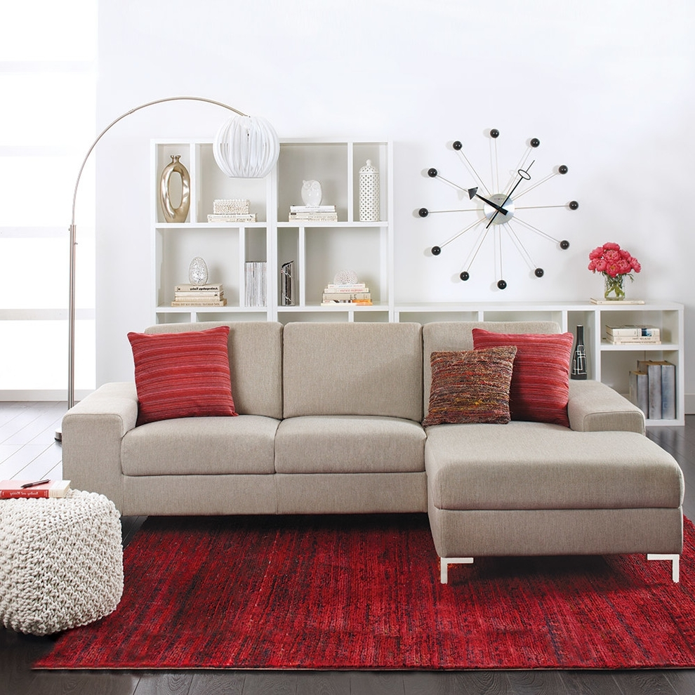 Dania Sectional Sofas Throughout 2018 Bedroom: Exciting Furniture Design With Cozy Dania Furniture (Gallery 18 of 20)