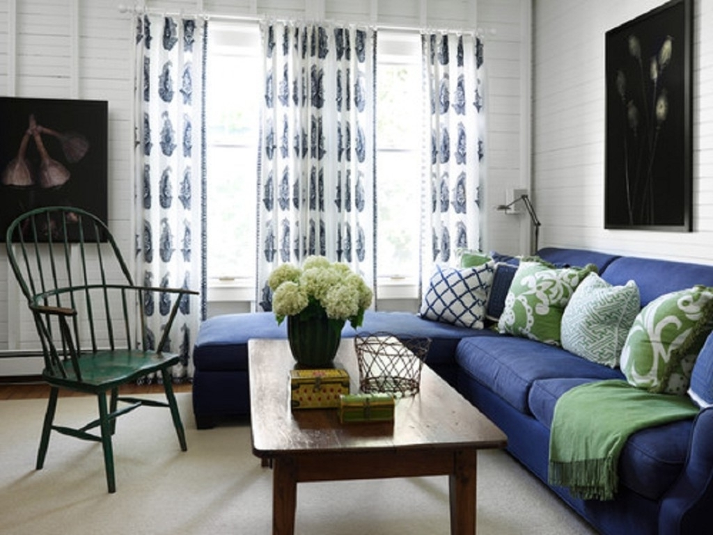 Dark Blue Sofas With Regard To Most Recent Living Room Ideas With Dark Blue Sofa (View 9 of 20)