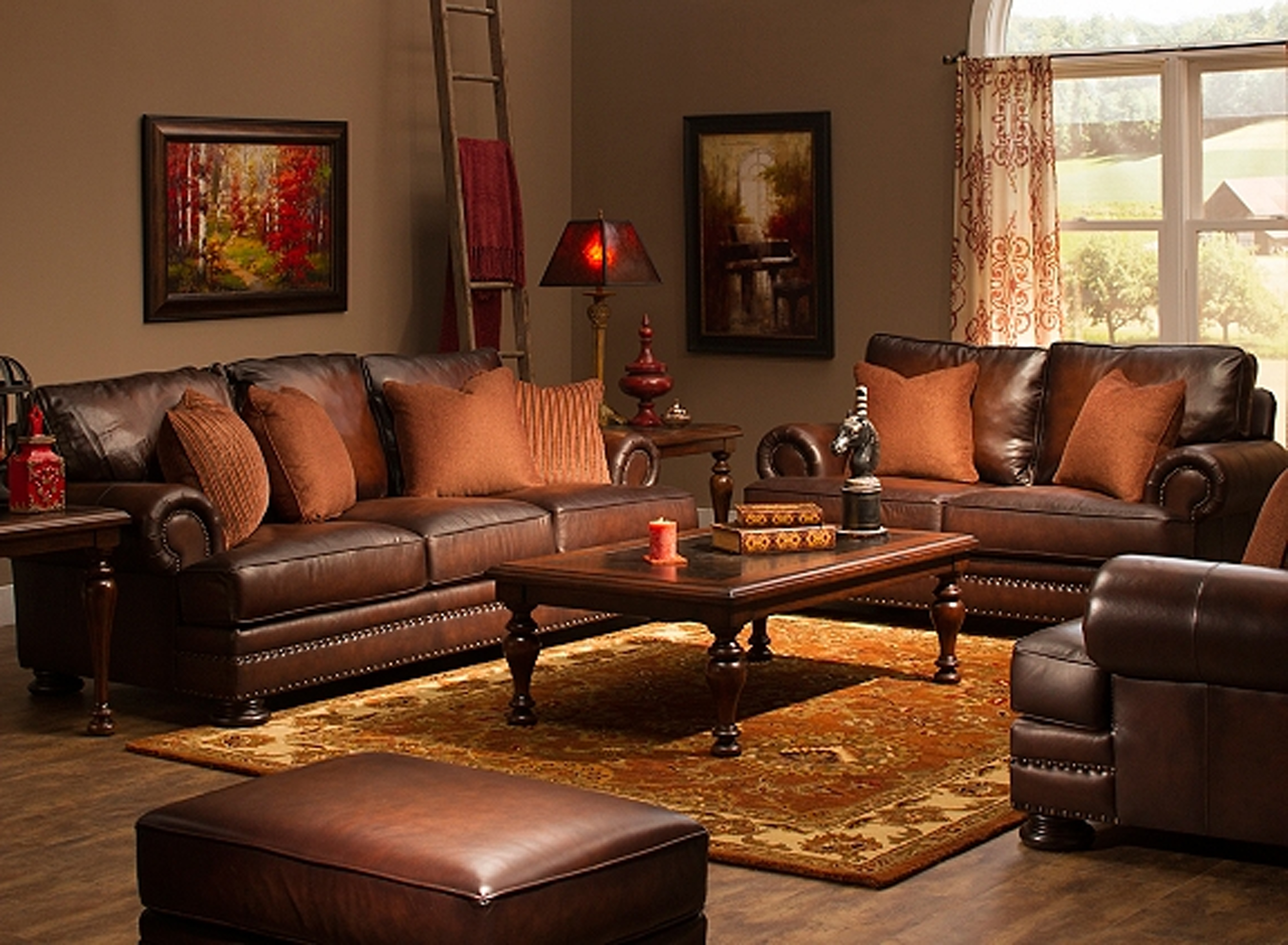 Dayton Ohio Sectional Sofas With Recent Bernhardt Living Room Foster Leather Sofa 031220 – Furniture Fair (View 6 of 20)