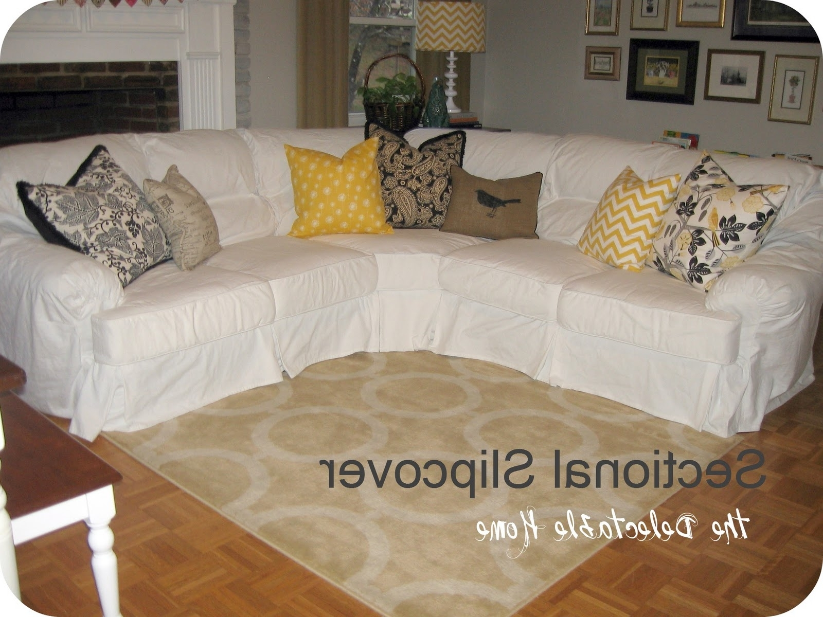 Decorating: Astounding Target Slipcovers For Modern Furniture Throughout Current Target Sectional Sofas (Gallery 20 of 20)