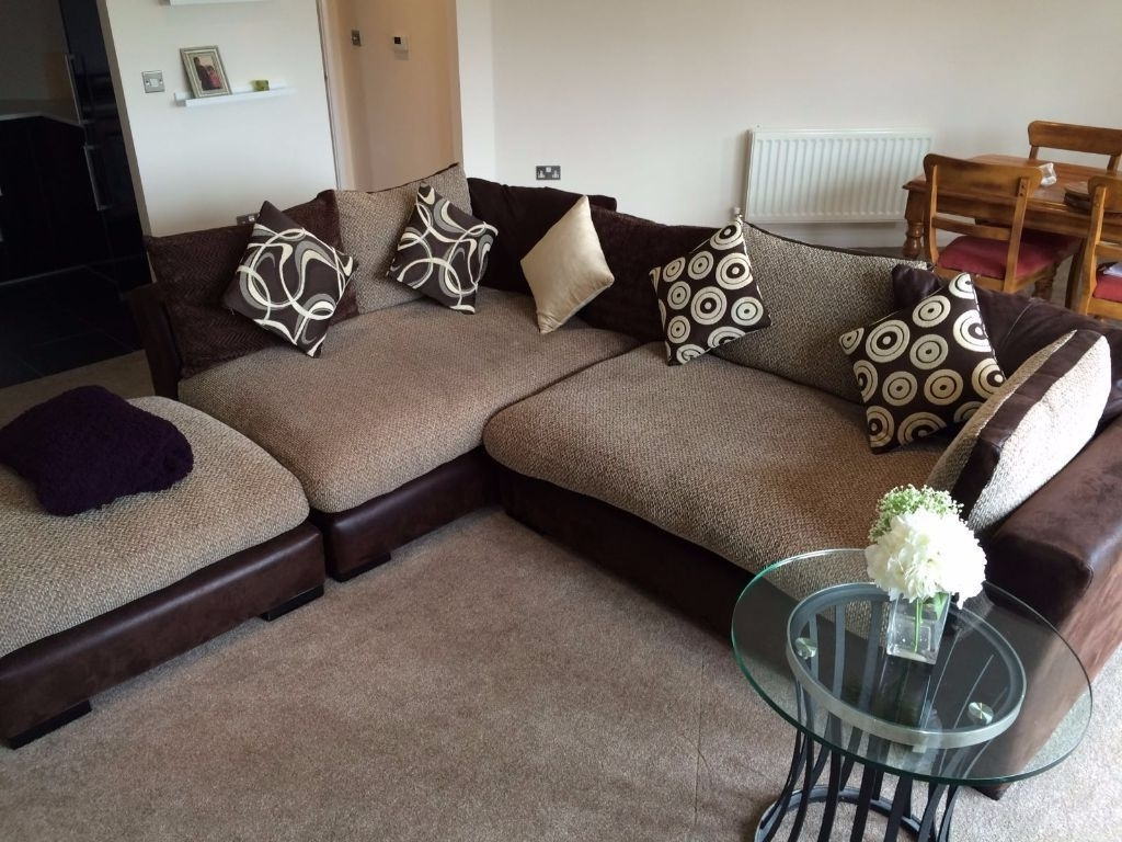 Deep Cushion Sofas Regarding Well Liked Sofa Design Ideas: Striking Couch Deep Cushion Sofa Vintage Style (View 3 of 20)
