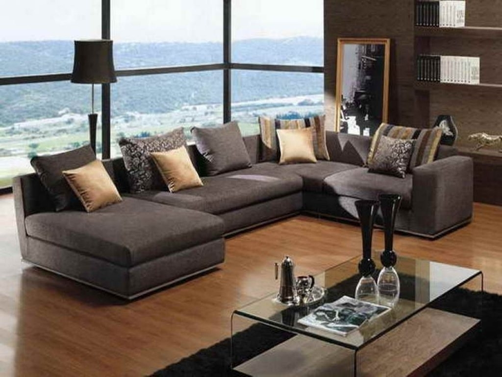 Deep Seated Sectional Sofa To Informal Living Throughout Popular Deep Seating Sectional Sofas (View 4 of 20)