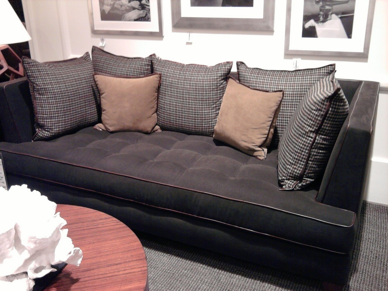Deep Seating Sectional Sofas Pertaining To Recent Extra Deep Couch Sectional Ideas — Cabinets, Beds, Sofas And (Gallery 9 of 20)