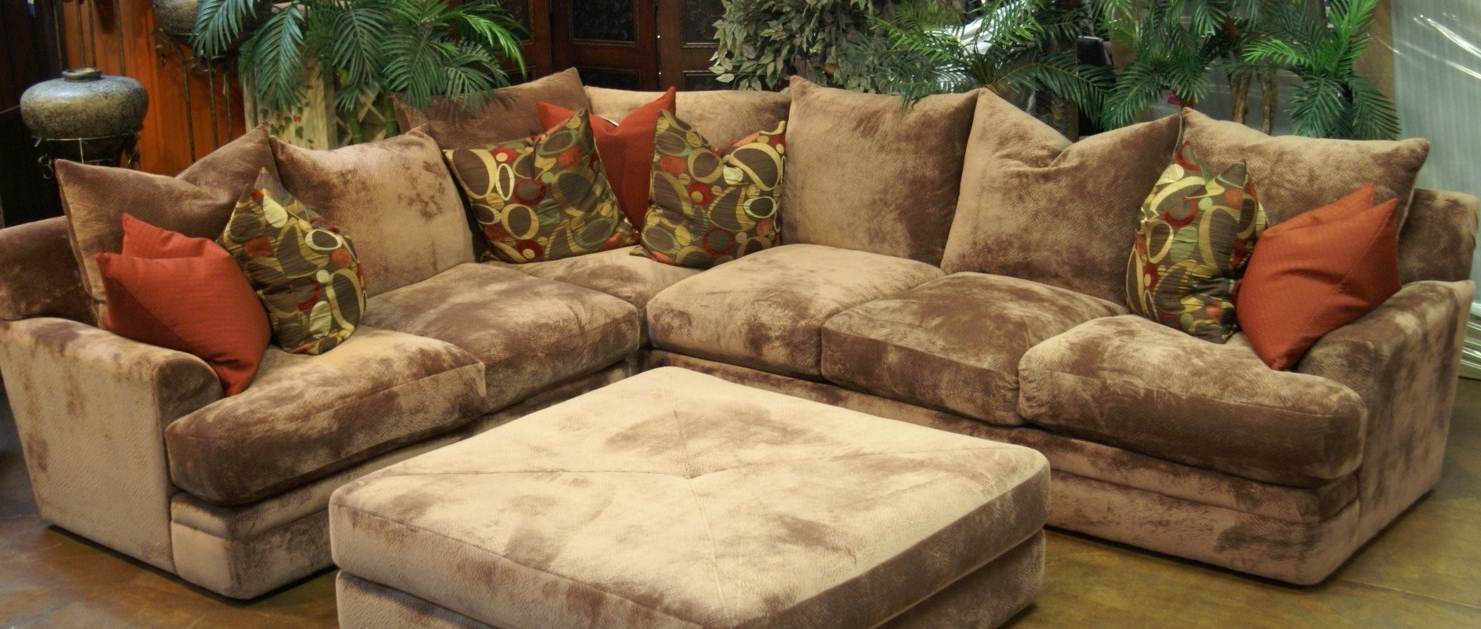 Deep Seating Sectional Sofas Regarding Famous Sofa : Deep Sofas For Sale Light Gray Couches Extra Deep Seating (Gallery 6 of 20)