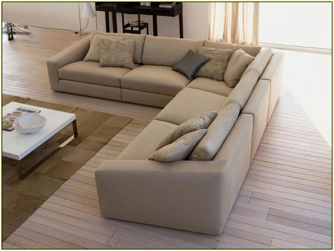 Deep Seating Sectional Sofas Regarding Most Recently Released Trend Deep Seated Sectional Couches 98 On Modern Sofa Ideas With (View 3 of 20)