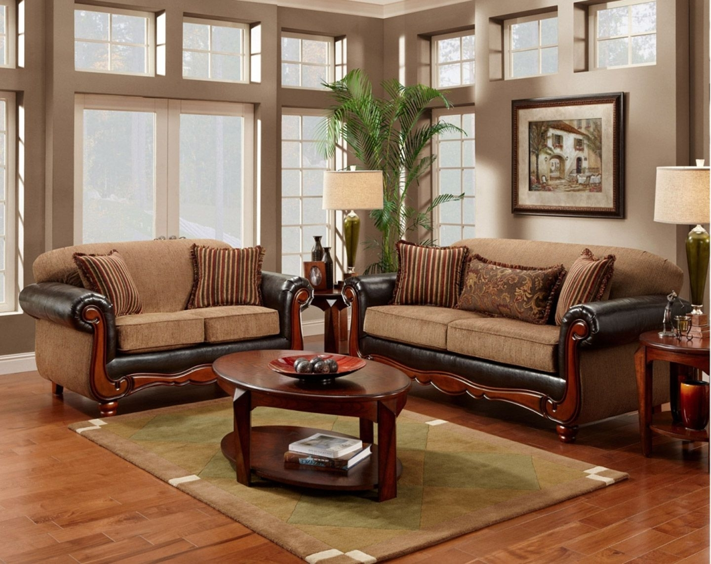 Delectable Living Room Furniture With Wood Trim Design Ideas With For Trendy Traditional Sofas And Chairs (View 2 of 20)