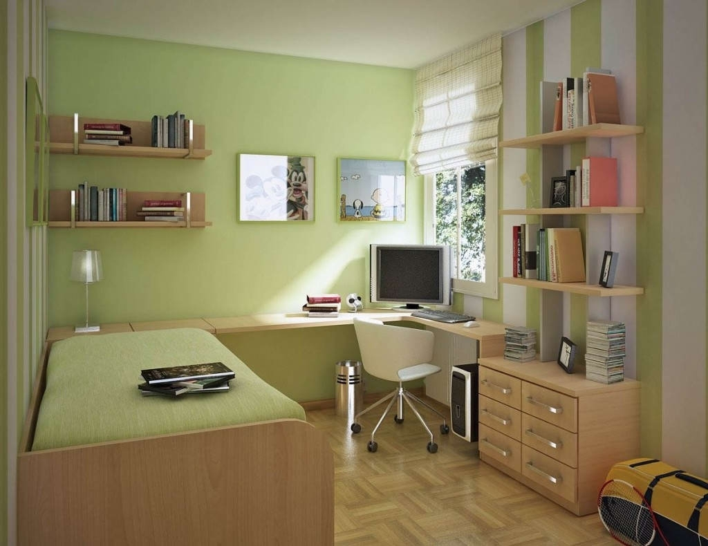 Design A Computer Desk In Bedroom — Home Design Ideas Throughout Fashionable Computer Desks For Bedrooms (Gallery 6 of 20)