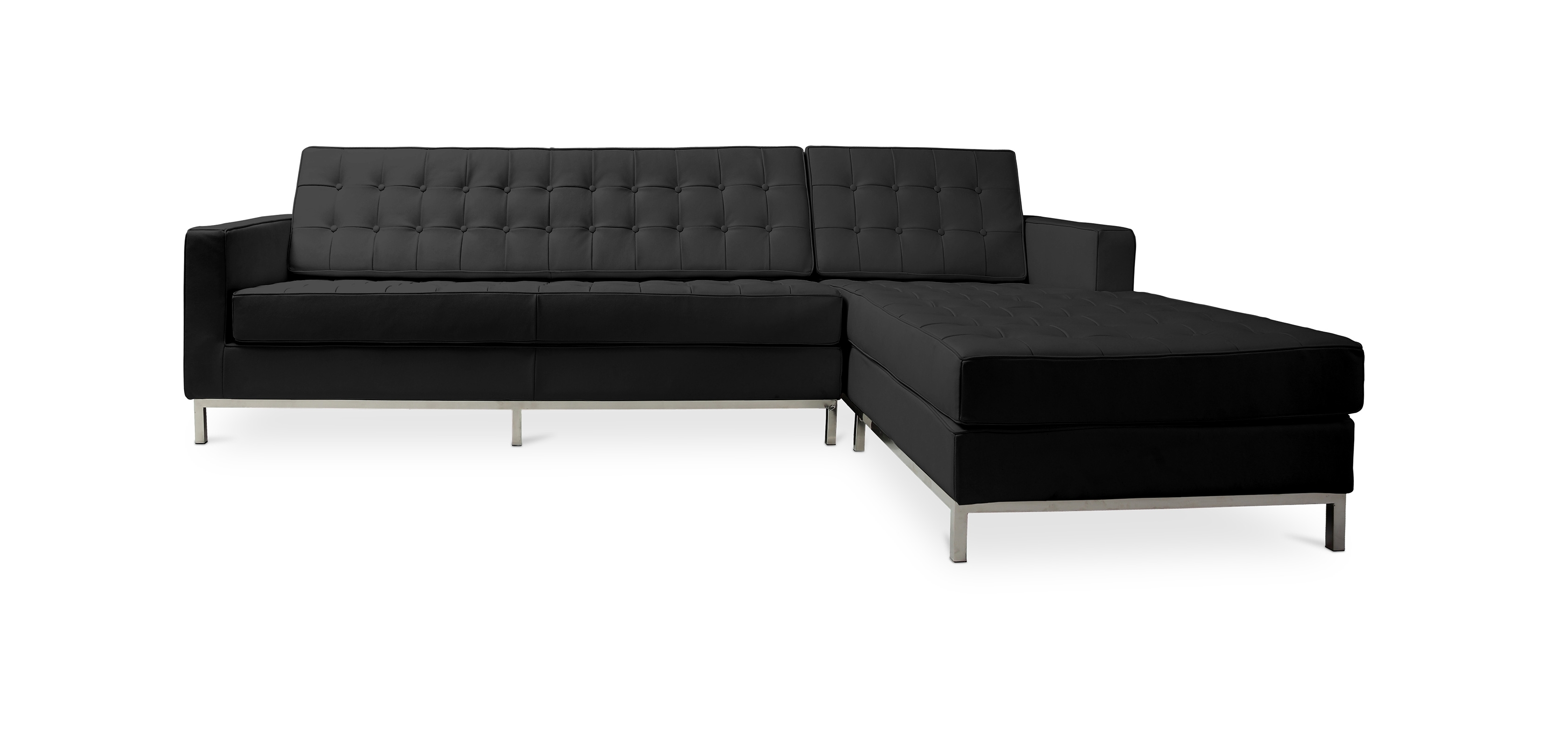Design Corner Sofa Florence Knoll Style – Left Angle – Premium Within Most Up To Date Florence Large Sofas (Gallery 13 of 20)