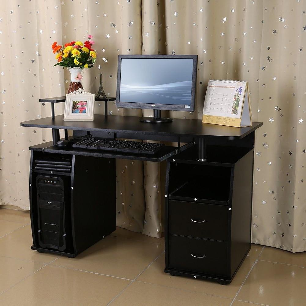 Desk : Corner Computer Desks For Home Enclosed Computer Desk Desk In Preferred Enclosed Computer Desks (View 6 of 20)