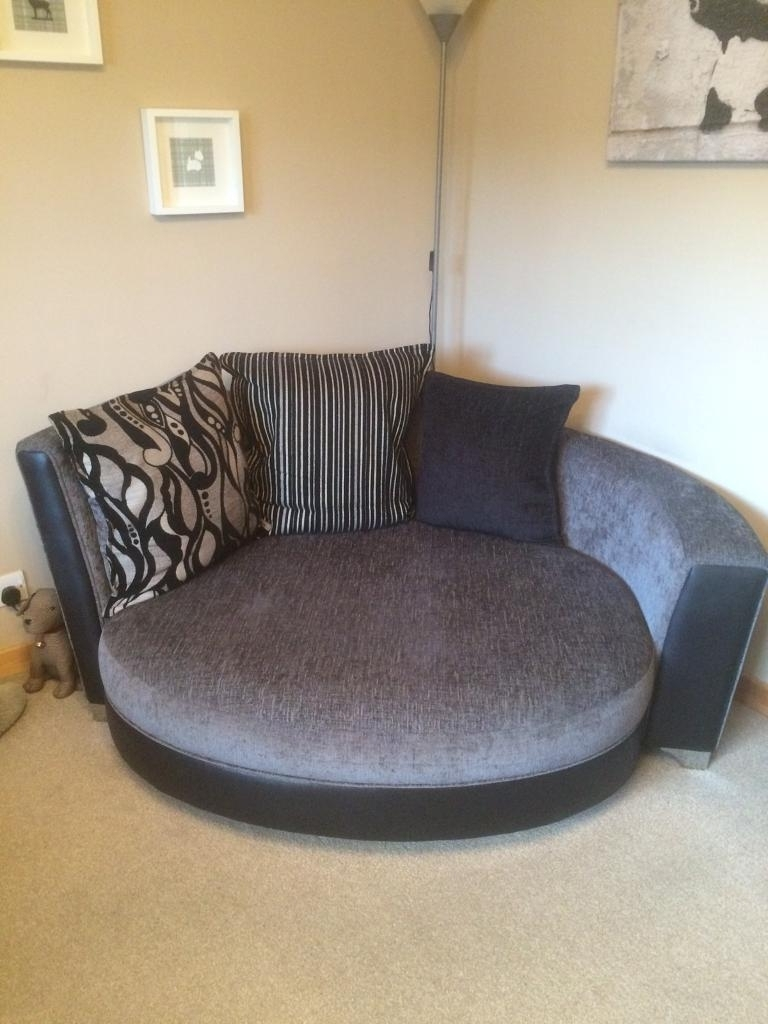 Dfs Helix 3 Seater Couch & Cuddle Chair (View 5 of 20)