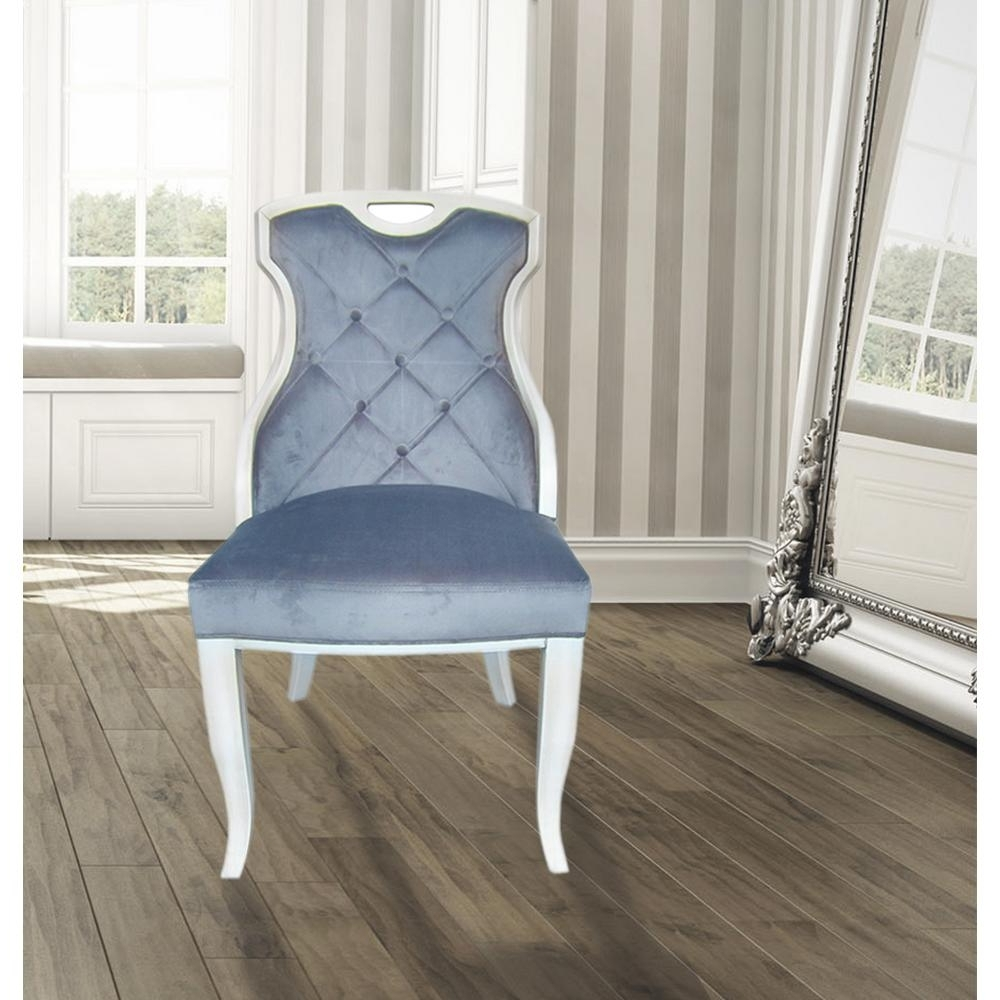 Dining Sofa Chairs For Best And Newest Sofa Serenity Velvet Sexy Back Dining Chair With Handle (Set Of (View 14 of 20)