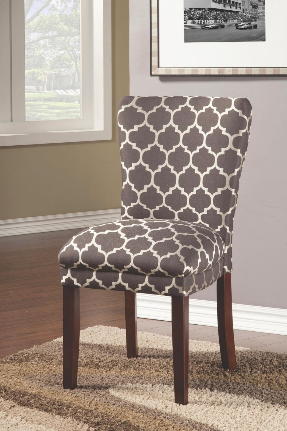 Dining Sofa Chairs Throughout Well Known Grey Fabric Dining Chair – Steal A Sofa Furniture Outlet Los (Gallery 10 of 20)
