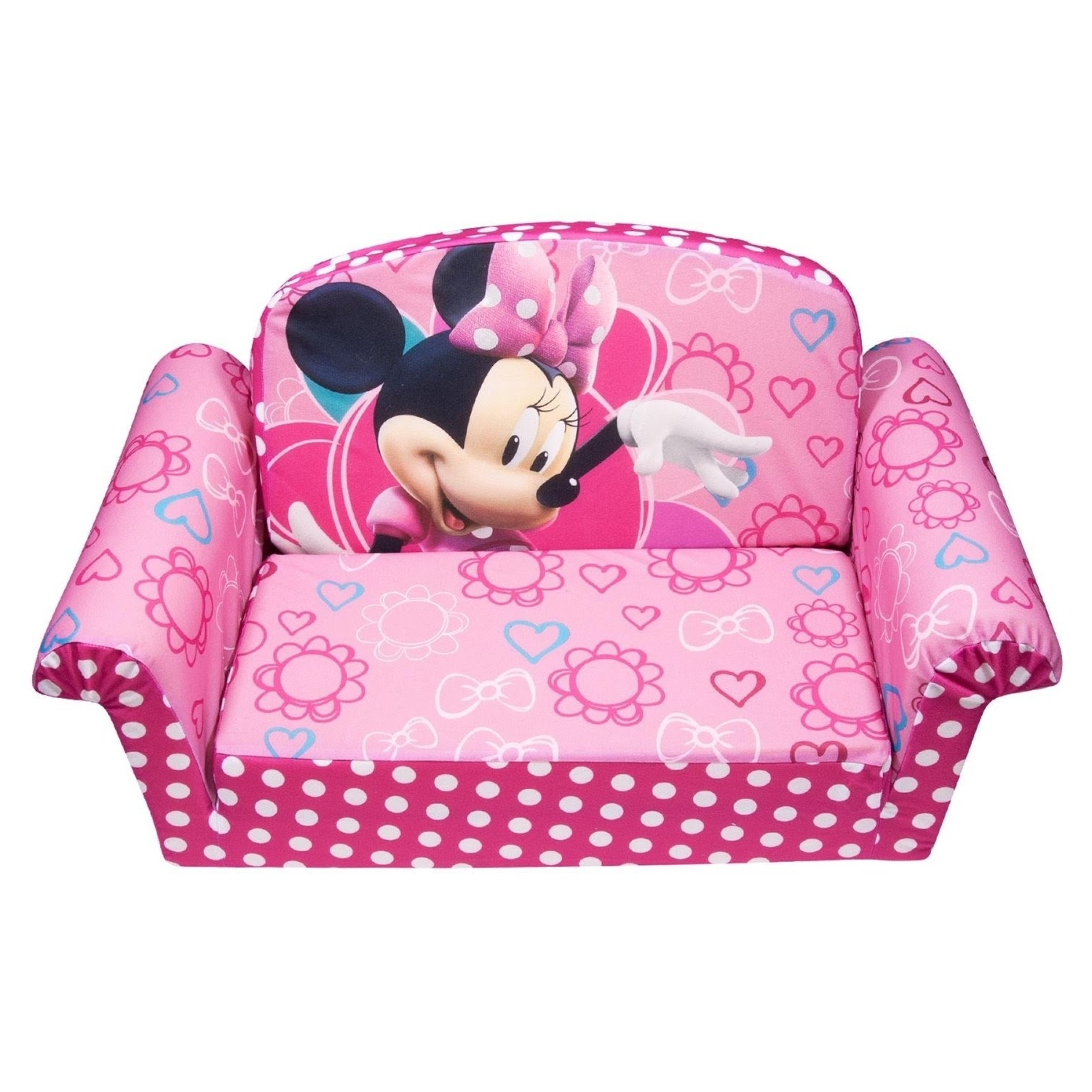 Disney Sofa Chairs Throughout Well Known Review: Marshmallow Children's Furniture – 2 In 1 Flip Open Sofa (Gallery 3 of 20)