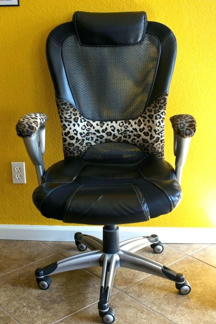 Diy Office Chair Cover Dining Chair To Desk Via Chair Diy Desk Throughout  Famous Executive Office