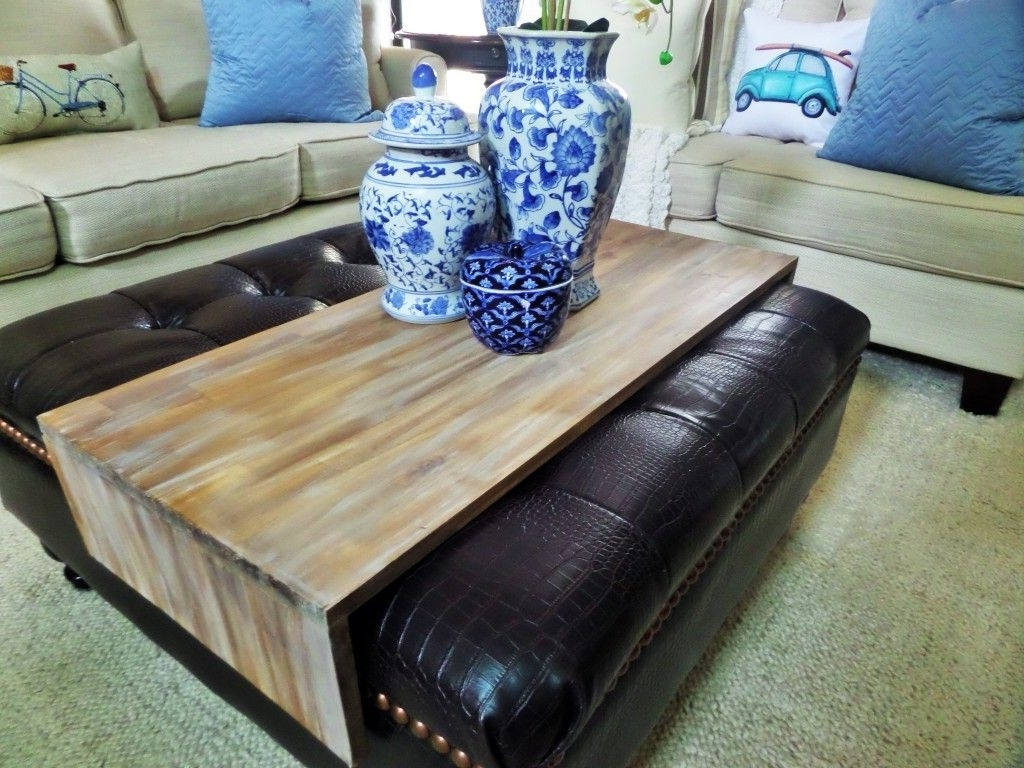 Diy Wrap Around Ottoman Tray (Gallery 6 of 20)