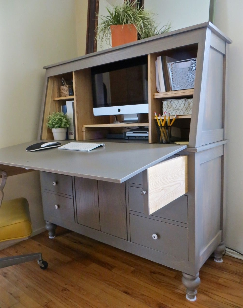 Do It Yourself Home Projects From Ana Inside Trendy Computer Desks With Doors (Gallery 3 of 20)