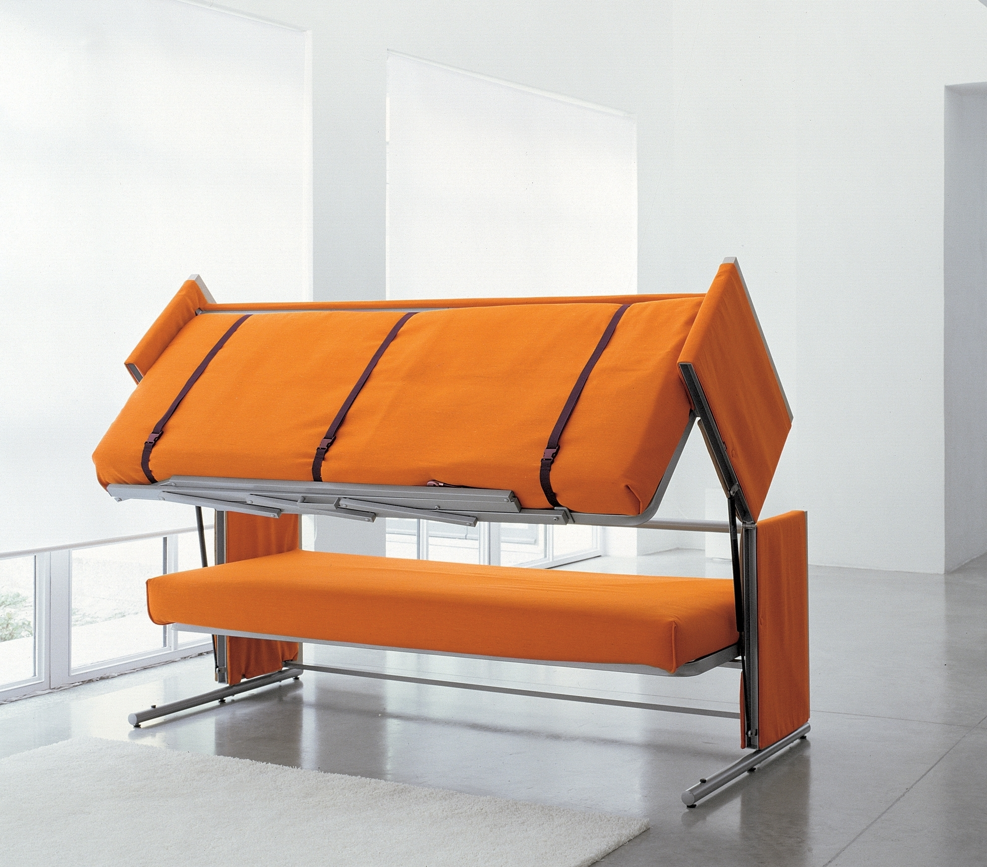 Doc Sofa Bunk Bed Bonbon Design • Sofa Bed In Fashionable Sofa Bunk Beds (View 3 of 20)
