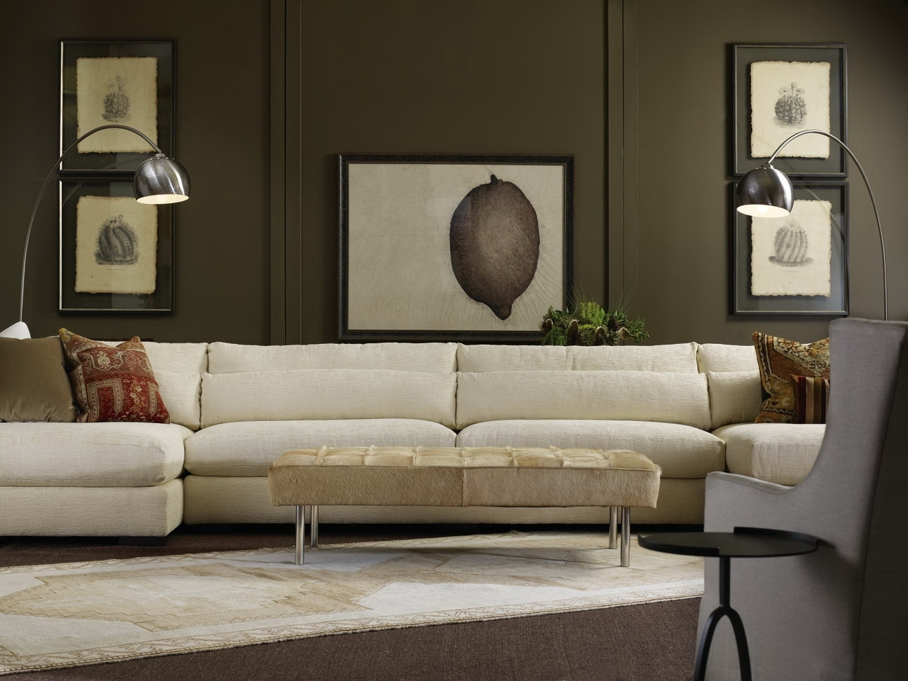 Down Feather Sectional Sofas Throughout Most Recent Furniture: Nice Interior Furniture Designrobert Michaels (View 8 of 20)